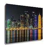 Ashley Canvas The Skyline Of Doha Qatar Doha Museum Of Islamic Art Doha Qatar Middle East 16x20