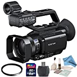 Sony PXW-X70 with eDigitalUSA Starters Kit: Includes 62mm UV Filter, 8GB SDHC Memory Card, Card Reader, Brush Blower, Cleaning Kit & eDigitalUSA Microfiber Cleaning Cloth