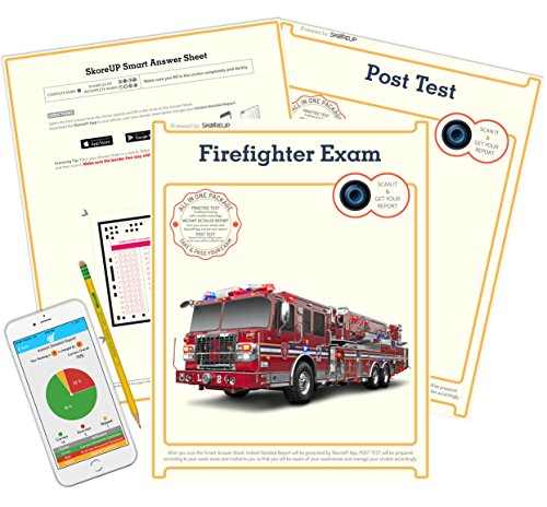 (Spanish Version) Cape Coral FL Firefighter Exam, Florida Fire Fighter Test Prep, Study Guide