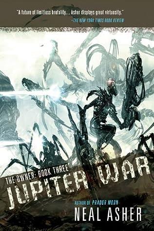 book cover of Jupiter War