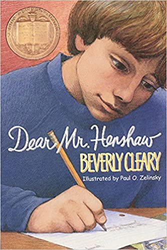 "Image result for Dear Mr. Henshaw,"" by Beverly Cleary"