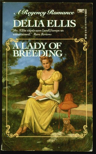book cover of A Lady of Breeding