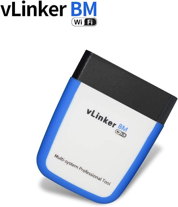Tonwon Vgate Vlinker Bm Wifi Obd2 Diagnosegerät Obd Adapter Kontrollieren Sie Die Motorleuchte Für Android Ios Und Windows Auto