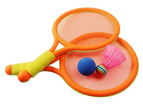 Panda Superstore Cute Racket Tennis Racket Badminton Racket Children Toys Badminton Set by Panda Superstore