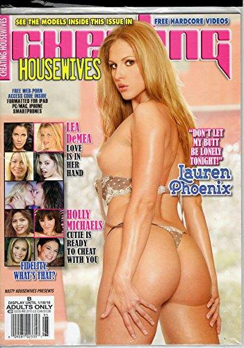 Nasty Housewives Presents Cheating Housewives Magazine #95 2015 LAUREN PHOENIX-NEW