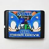 Taka Co 16 Bit Sega MD Game Sonic Eraser 16 bit MD Game Card For Sega Mega Drive For Genesis