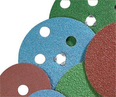 AVOS Edger Speed-Lok Discs, Zirconia Alumina, 4 1/2 in Dia., 36 Grit - 10 Each