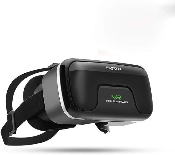 3D VR Gafas de Realidad Virtual, VR Glasses Visión Panorámico 360 ...