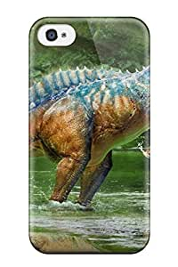 Frank J. Underwood's Shop Best 7239416K56010080 Hot Design Premium Tpu Case Cover Iphone 4/4s Protection Case(dinosaur)