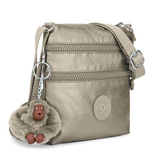 Cross Metallic Bag Body Alvar Kipling Pewter Tw1qFTC