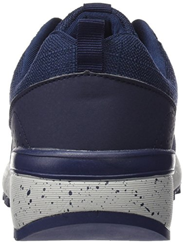 Men's 040150 Blue Black Navy Trainers bass3d 54YqwdxOY