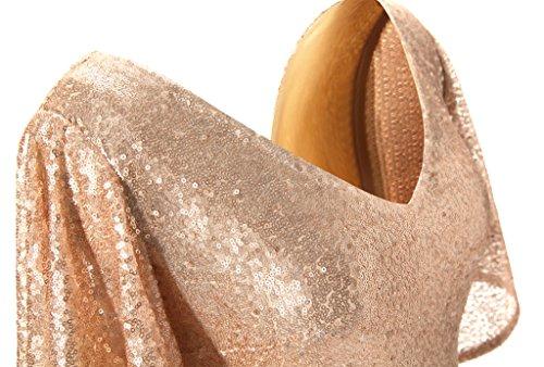 JYDress - Robe - Trapèze - Femme -  beige - 46