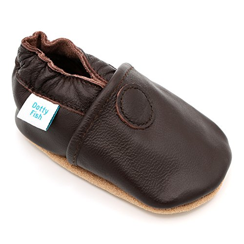 Leather Pram Shoes For Babies - 5