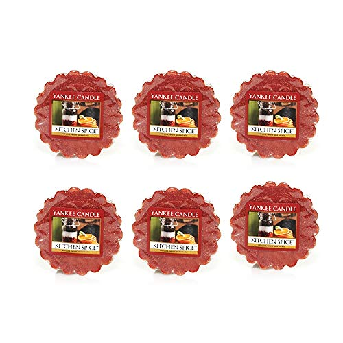 - Yankee Candle Lot of 6 Kitchen Spice Tarts Wax Melts