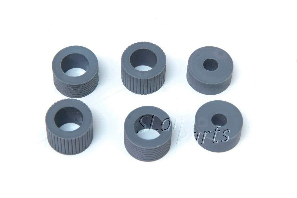 Printer Parts PA03338-K011 PA03576-K010 for Fujitsu Fi-5750C Fi-5650C Fi-6670 Fi-6670A Fi-6770 Fi-6770A Fi-6750S Brake Pickup Roller Tire