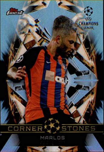 2018-19 Finest UEFA Champions League Cornerstones Soccer #FC-M Marlos FC Shakhtar Official Union of European Football Associations Trading Card From Topps