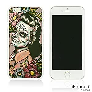 Skull Pattern Hardback Case Cover For SamSung Galaxy S3 Smartphone - Woman With Sugar Skull Face