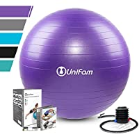 Exercise Stability Ball Chair with Hand Pump Use for...