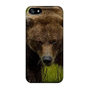 New Premium AXv6176StHu Case Cover For Iphone 5/5s/ Bear Grass Protective Case Cover
