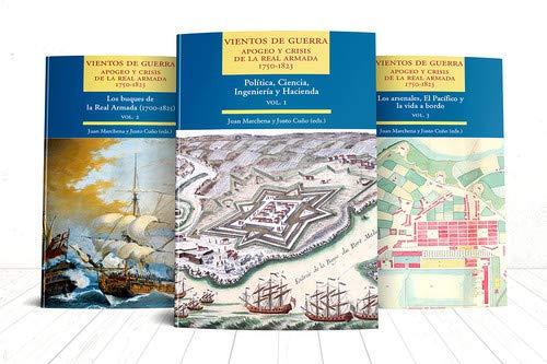 Vientos de Guerra. Apogeo y crisis de la Real Armada. 1750-1823 Miscelánea: Amazon.es: Marchena Fernández, Juan, Cuño Bonito, Justo: Libros