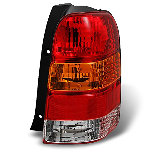 For Ford Escape SUV Amber Red Rear Tail Light Tail Lamp Brake Lamp Passenger Right Side Replacement