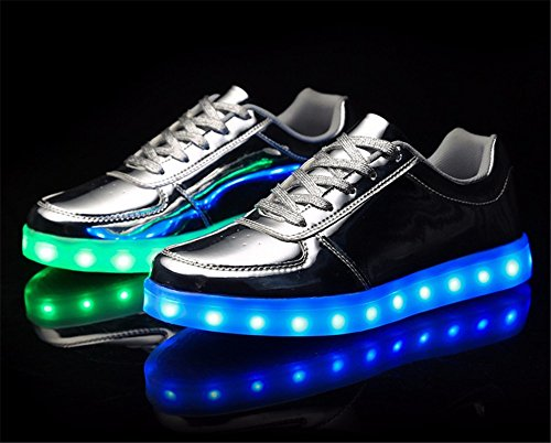 Usb Mut Le Baha Light Portato Ha Glow Scarpe Di Up Ricarica 70wqUnO