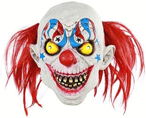 SUNNYBLUEE Joker Disfraz Disfraz de Payaso Creepy Evil Scary ...