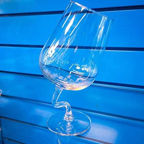 Copas de vidrio de vino blanco FlamencoGlass XIX TRANSPARENTE GLACIAL Diseñado por J.Lavalle