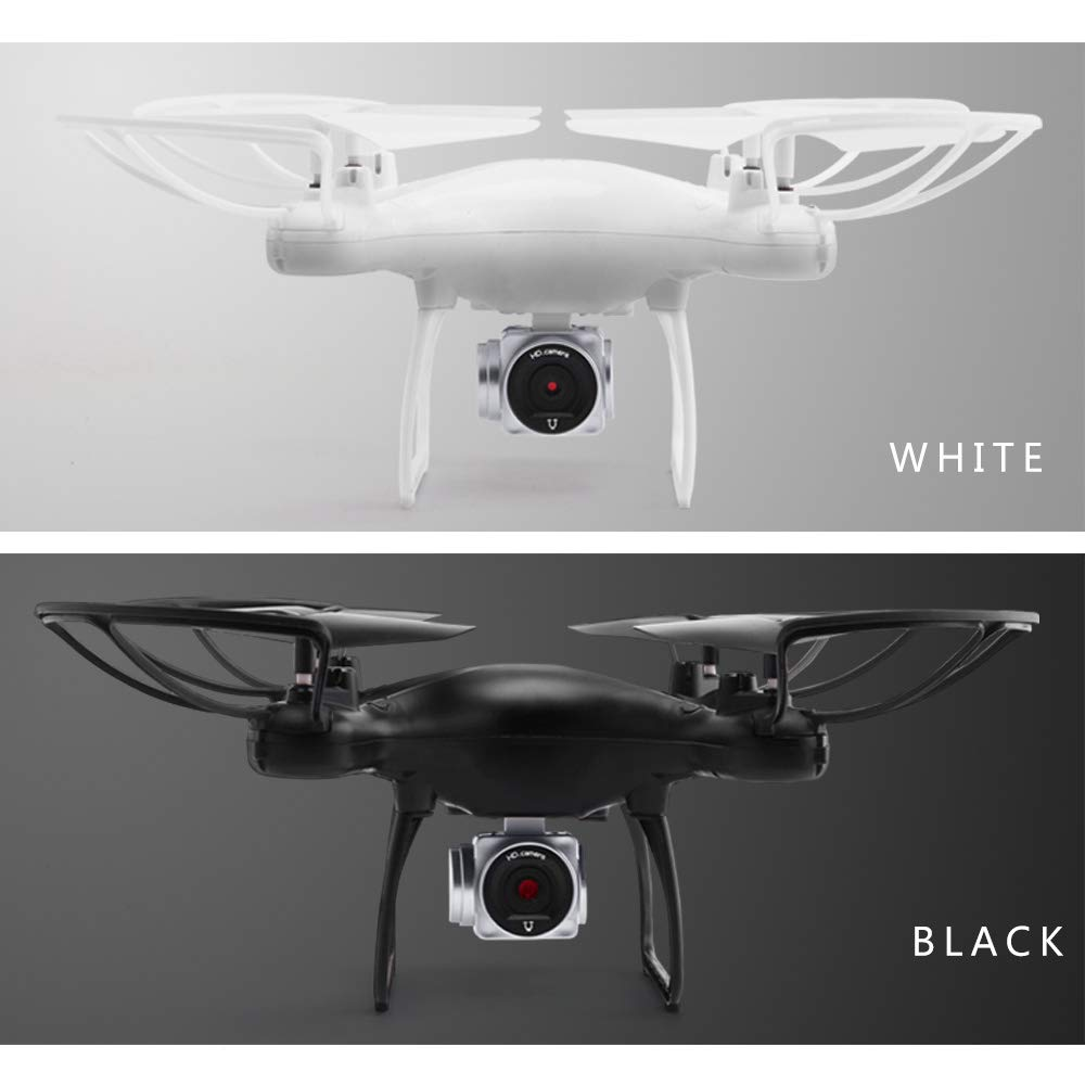 White720P WiFi FPV 720P HD Camera, Best Drone for Beginners with Altitude Hold, Trajectory Flight, 3D Flips, Headless Mode, One Key Operation,white720P