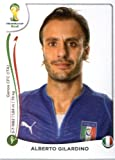 2014 Panini World Cup Soccer Sticker #333 Alberto Gilardino Mint