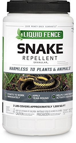 Liquid Fence HG-80261 Snake Repellent Granules, 2-Pound
