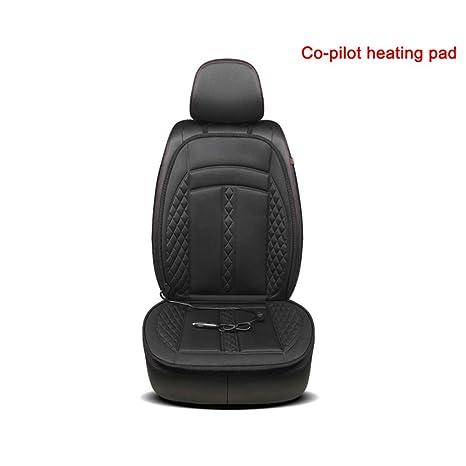 Donpow Cojín de asiento de coche con calefacción de 12v ...