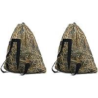 Auscamotek Wetland Camo Mesh Decoy Bags – 2 Waterfowl...