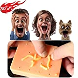 RAYKI Squeeze Acne Toys -Peach Pimple Popping Funny Toy Popper Remover Stop Picking Your Face