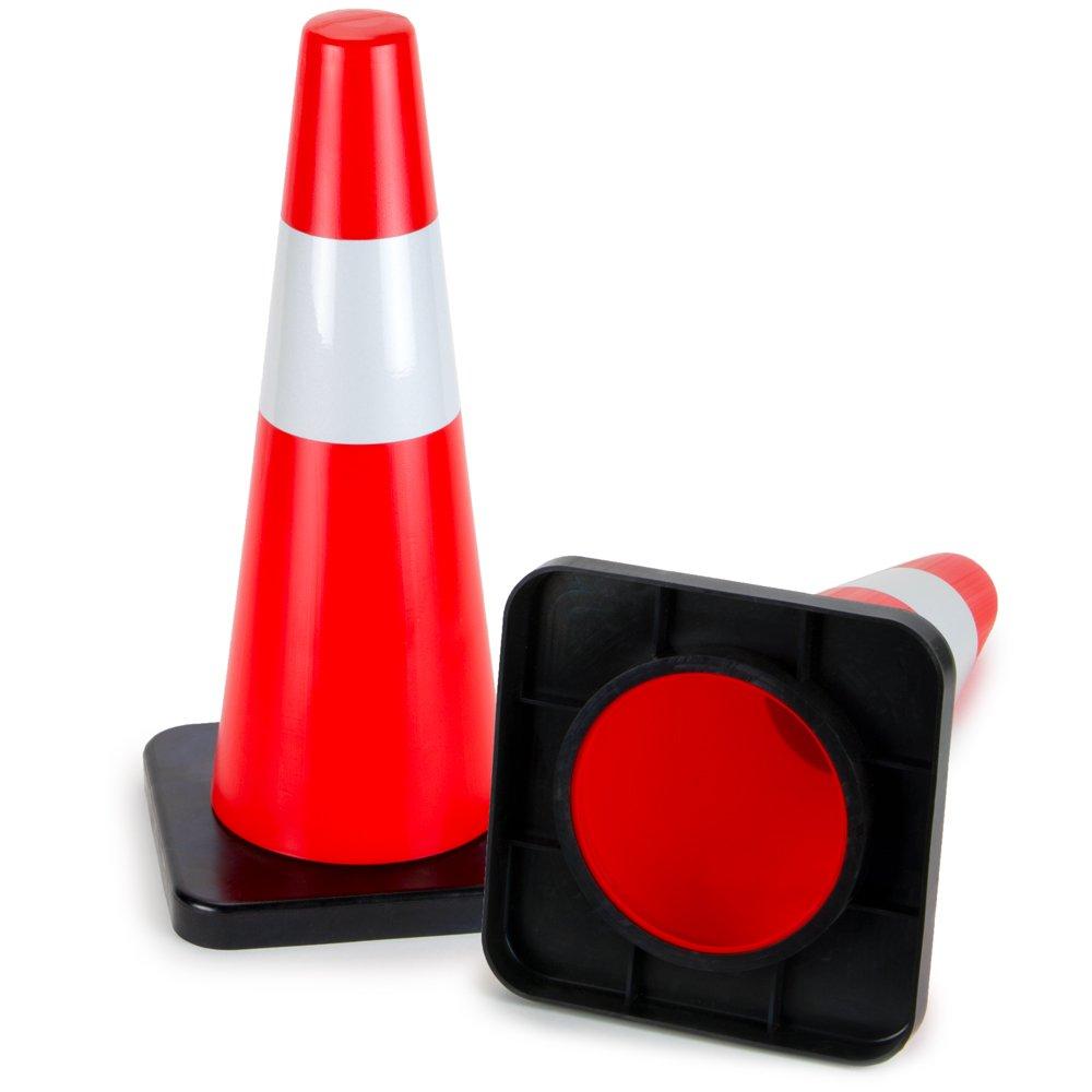 楽天 デラックスPVC 18インチTall Reflective High Hat Cones – Set of High – B07981RKXD 2。 B07981RKXD, 友部町:fdfbb155 --- womaniyya.com