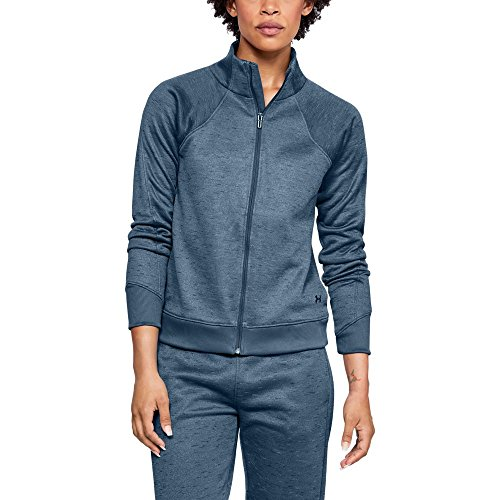 - Under Armour Women's Synthetic Fleece Full Zip, Static Blue (414)/Tonal, X-Large