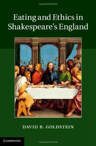 Books : Eating and Ethics in Shakespeare's England