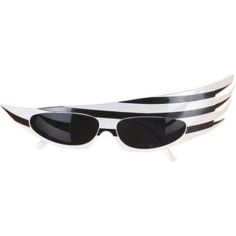 Occhiali da popstar - nero-bianco 3JOUINT