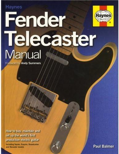 Paul Balmer: Haynes Fender Telecaster Manual. Para guitarra ...