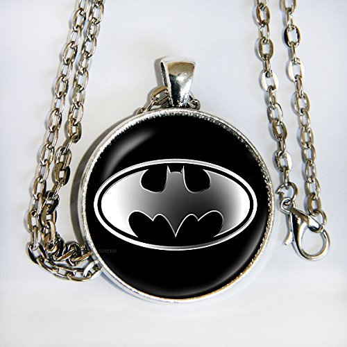 Doom Of Costume For Adults Legion (Batman silver logo - pendant necklace -)