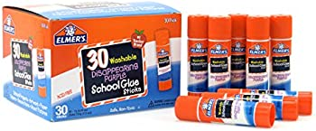 Elmers 30-Count of 0.24-Ounce Disappearing Washable Sticks