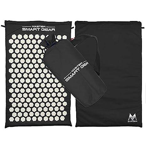 Amazon.com : Ionter Acupressure Massage Mat Pillow Set Yoga ...
