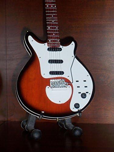Mini Guitarra Blanca Queen Brian May Sunburst Pantalla Especial ...