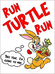 Run Turtle Run (The True Story of the Tortoise and the Hare) (English Edition)