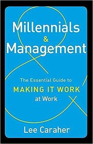 Amazon millennials management the essential guide to making amazon millennials management the essential guide to making it work at work 9781629560274 lee caraher books fandeluxe Choice Image