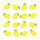 Paperproducts Design 1331970 Lunch Napkin with Exquisite Fashion Lemon Allover Design, 6.5 x 6.5'', Multi