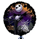 """Nightmare Before Christmas 18"""" Foil Balloon by Disney"""