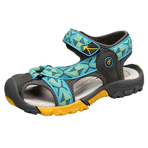 - kaifongfu Toddler Baby Boys Girls Beach Sandals Infant Kids Casual Sandals Breathable Tide Outdoor Anti-Slip Shoes Mint Green