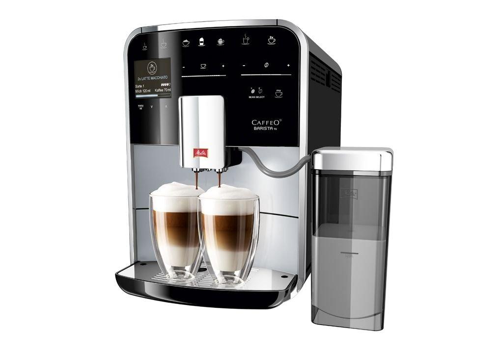 Melitta CAFFEO Barista TS - Cafetera (Independiente, Negro, Espresso machine, Granos de café, De café molido, Café crema, Capuchino, Café expreso, ...