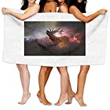 Galaxy Deer 100% Polyester Bath Towel Ultra Absorbent And Eco-Friendly